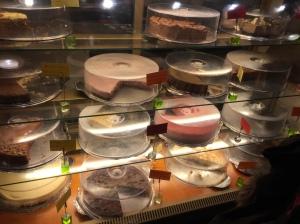 Cakes at Kaffi Krus