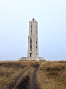 Knarraros concrete square Lighthouse