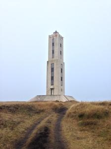 Knarraros concrete square Lighthouse