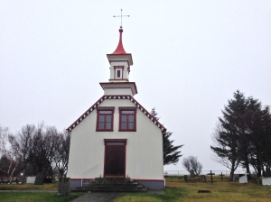 Villingaholtskirkja church made of currugated iron